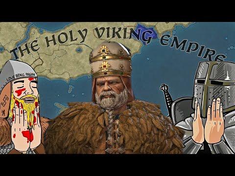 THE VIKINGS STEAL THE PAPACY?! - Crusader Kings 3 VIKING POPE CHALLENGE! |