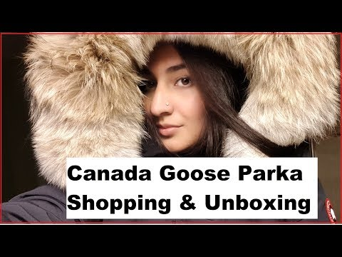 Canada Goose Parka Shopping & Unboxing/ Warmest Jacket On Earth