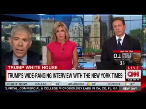 Chris Cuomo interviews Maggie Haberman NYT about her stunning interview with Trump