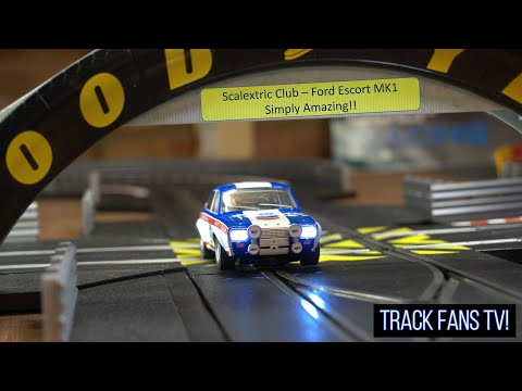 Track #86 – Scalextric 2021 – Big Scalextric Track Layout, Amazing Slot Car, New Camera Action!
