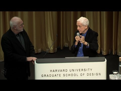 "Senior Loeb Scholar Lecture: Kenneth Frampton, ""Megaform as Urban Landscape"""
