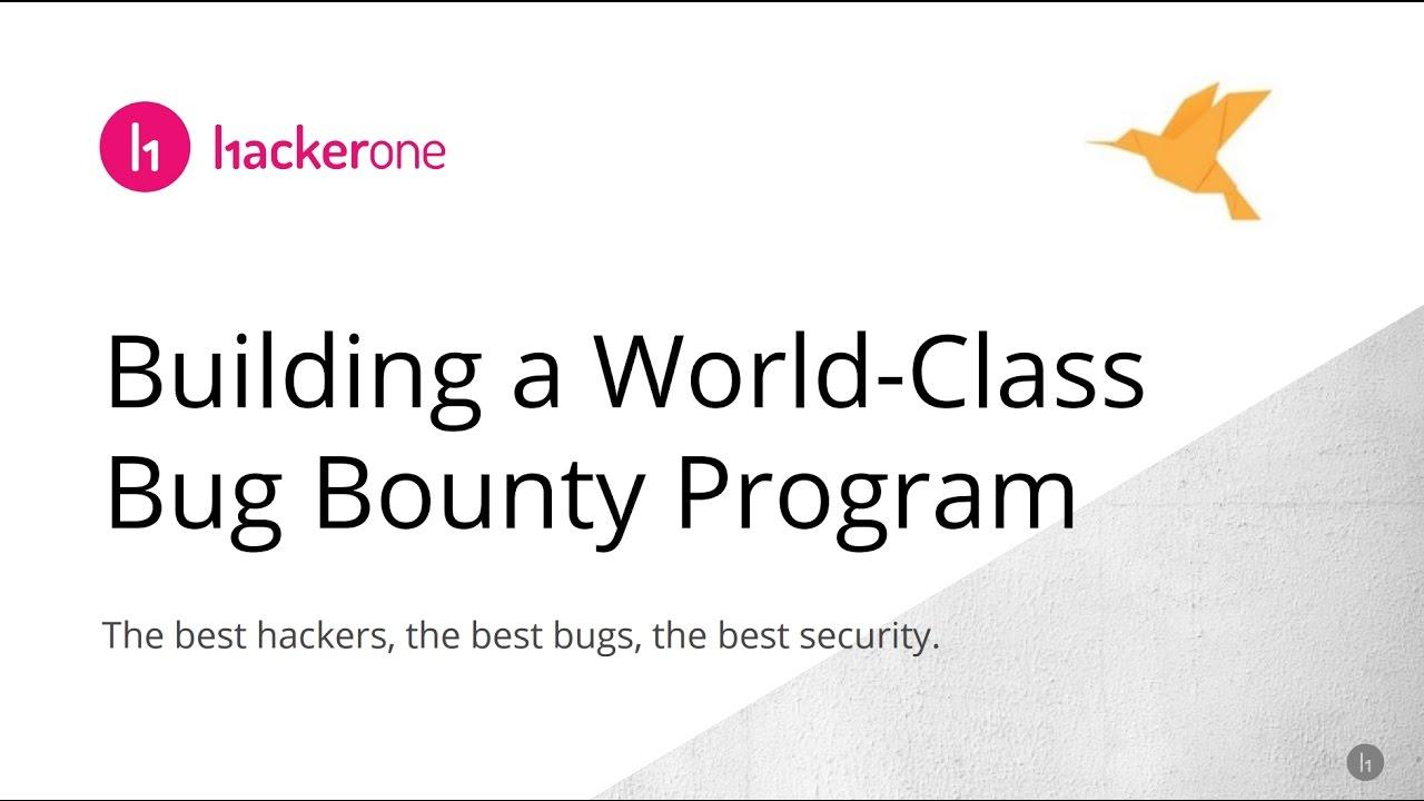 Webinar: Tips on Building a World Class Bug Bounty Program From Senior Red  Team Expert, Mack Staples