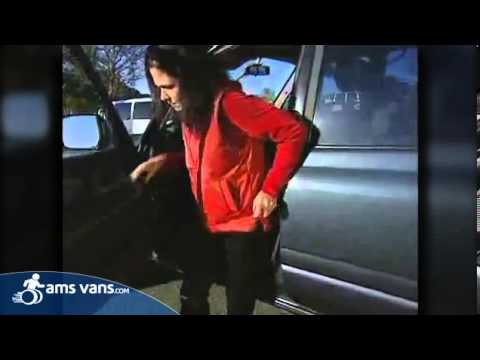 A Handybar Helps You Out Of Your Car! | AMS Vans Mobility Equipment