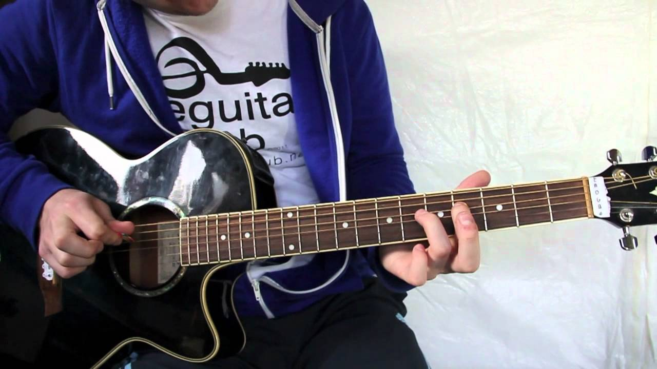 how to play someone like you on the guitar