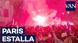 ESPECTACULARES IMÁGENES de París tras el pase de Francia a la final del Mundial