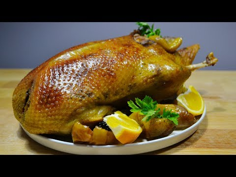Сочная УТКА Запечённая в Духовке ❆Секреты Мягкой и Сочной Утки Duck In The Oven With Apples