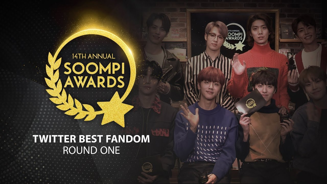 Round One of Twitter Best Fandom Voting In 13th Annual Soompi Awards  Officially Begins