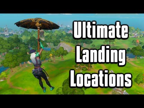 Top 6 Landing Spots For Arena + Cash Cups! - Fortnite Chapter 2 Season 2