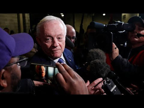 Jerry Jones On TNF Loss, We Won't Be Going Anywhere Until We've Won A Football Game