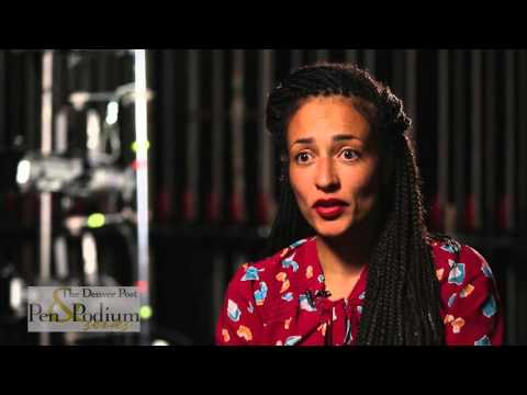 Zadie Smith - Backstage at Pen and Podium