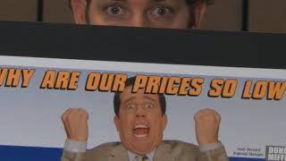 Офис. Рекламные плакаты Дуайта и Энди. [8x04]