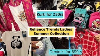 Kurtis Starting @ 250rs || Reliance Trends Ladies Summer Collection || Latest Offers