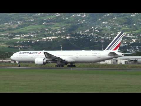 St Denis de la Réunion ,décollage pour Paris-Orly