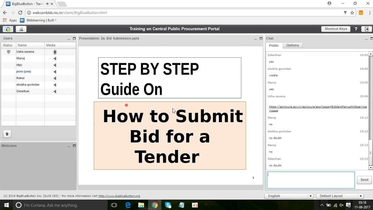 online bidder enrollment