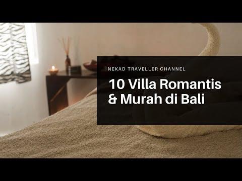 10 Villa Romantis & Murah di Bali Cocok untuk Honeymoon atau hari Valentine (Harga dibawah 1jtan)