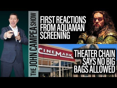 Aquaman First Reactions, Jurassic World 3 Announced - The John Campea Show