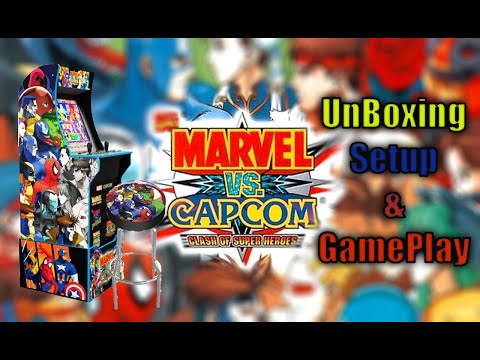 Marvel VS Capcom Arcade1up Unboxing, Gameplay, and thoughts!!! from MadDadsGaming