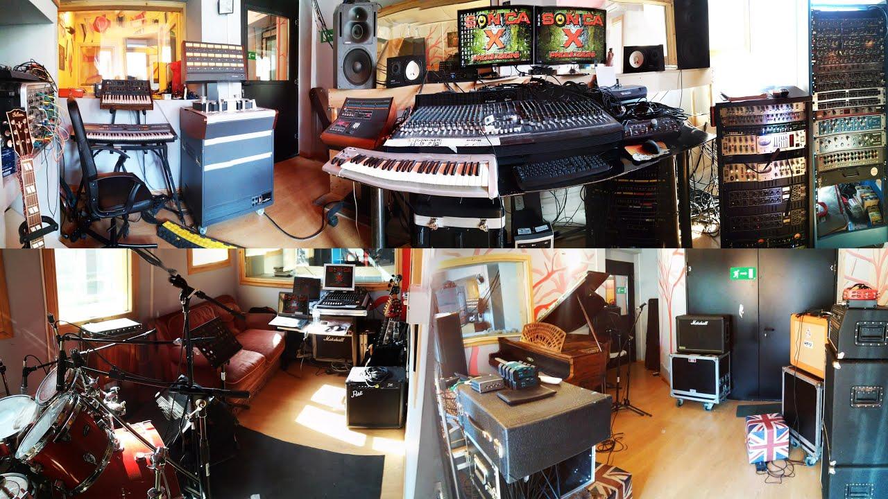 Ti presentiamo sonica x studio di registrazione torino youtube - Studio di registrazione casalingo ...