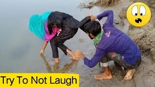Must Watch New Funny Comedy Video_Try To Not Laughing_ 2019