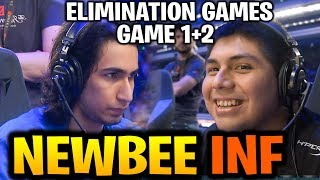 NEWBEE vs INFAMOUS [Game 1+2] Intense Elimination Games TI9 Dota 2