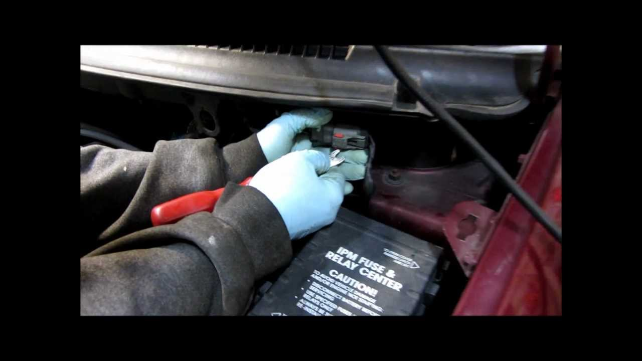 2002 Dodge Caravan Fuel Filter Replacement