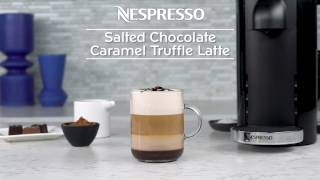 Salted Chocolate Caramel Truffle Latte Recipe