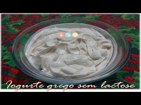 Como fazer Iogurte grego caseiro sem lactose