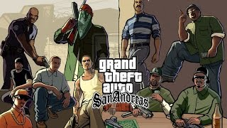 Grand Theft Auto San Andreas Rosenberg Missions & Madd Dogg Mission & CRASH Mission Part30