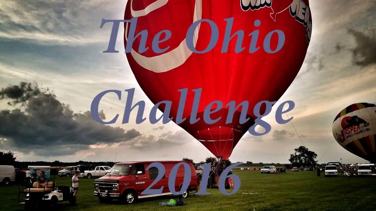 The Ohio Challenge Balloon Festival 2016 - YouTube