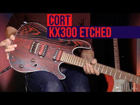 Cort KX300 Etched