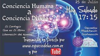 DE CONCIENCIA HUMANA A CONCIENCIA DIVINA - El Contagio -  El Alma YouTube Videos