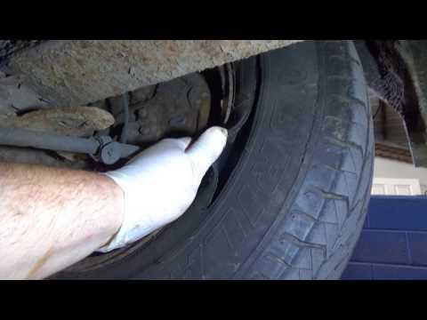 Class 7 dangerous tyre found on MOT test