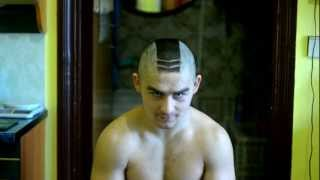 Ирокез-протектор (Mohawk that looks like a tread of tire)