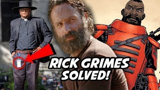 A and B Solved! The Scary Truth Behind A and B! The Walking Dead Season 10 Rick Grimes Movie Theory