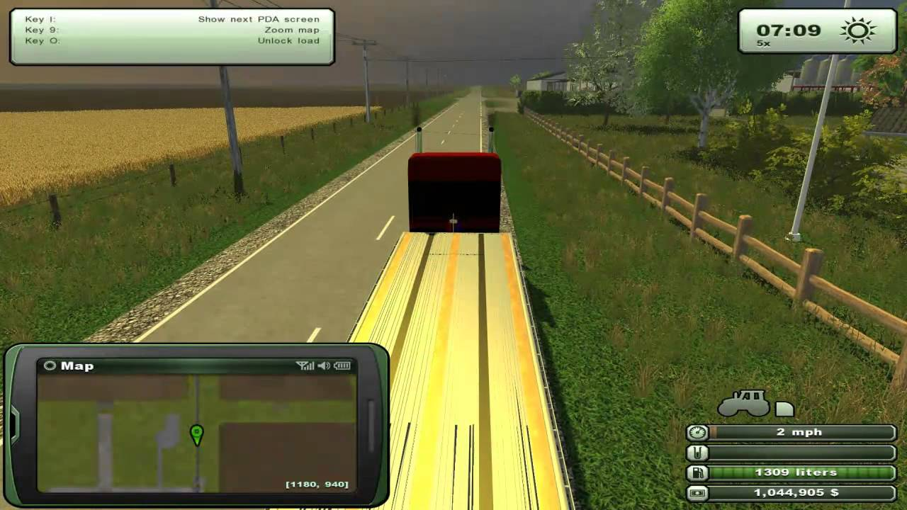 Farming simulator mods semi trailers flatbeds modern us maps for farming simulator 2013