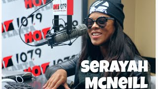 Serayah McNeill Talks being