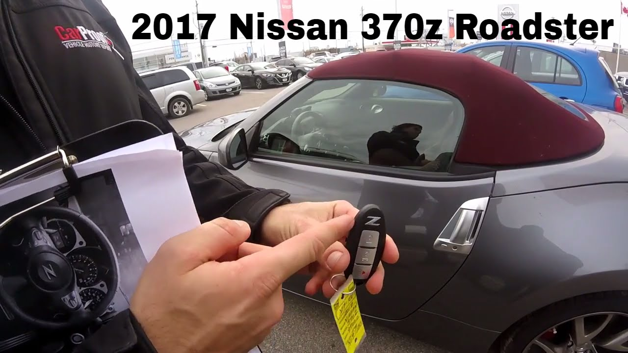 2017 nissan 370z sport touring roadster convertible start up rev and in depth walk around youtube. Black Bedroom Furniture Sets. Home Design Ideas