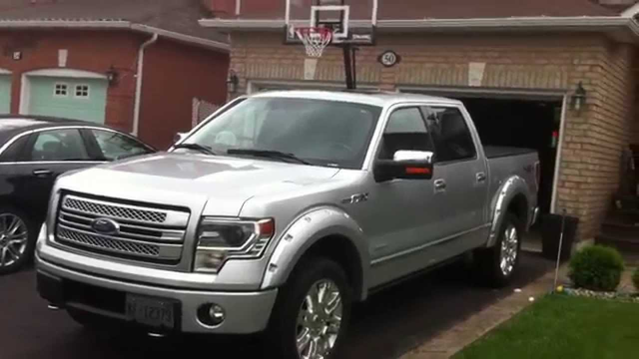 2014 F150 Platinum >> 2013 Ford F-150 Platinum Startup Engine & In Depth Tour - YouTube