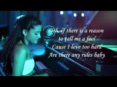 Ariana Grande  - Die In Your Arms (lyrics)