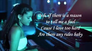Ariana Grande  - Die In Your Arms (lyrics)
