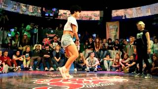 Hot Sexy Punkie vs Katrin WOW (win) Dancehall ADRENALINE Vol.3