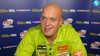 Exclusive: Michael van Gerwen disappointed with his early scare at World Darts Championship