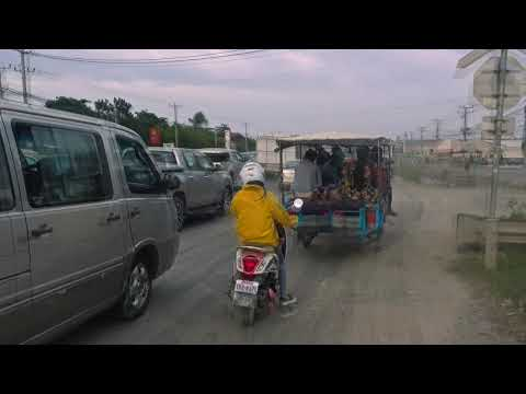 Traffic in Phnom Penh, Cambodia, hyperlapse 4k video - Free Stock Footage