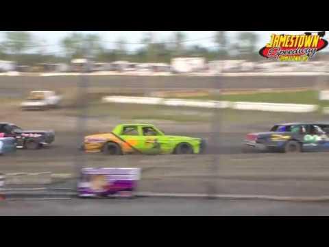 Jamestown Speedway Bomber Heats (8/25/18)