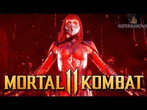 """THE CLUTCH COMEBACK WITH SKARLET! - Mortal Kombat  Online Beta: """"Skarlet"""" Gameplay"""