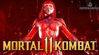 """THE CLUTCH COMEBACK WITH SKARLET! - Mortal Kombat 11 Online Beta: """"Skarlet"""" Gameplay"""