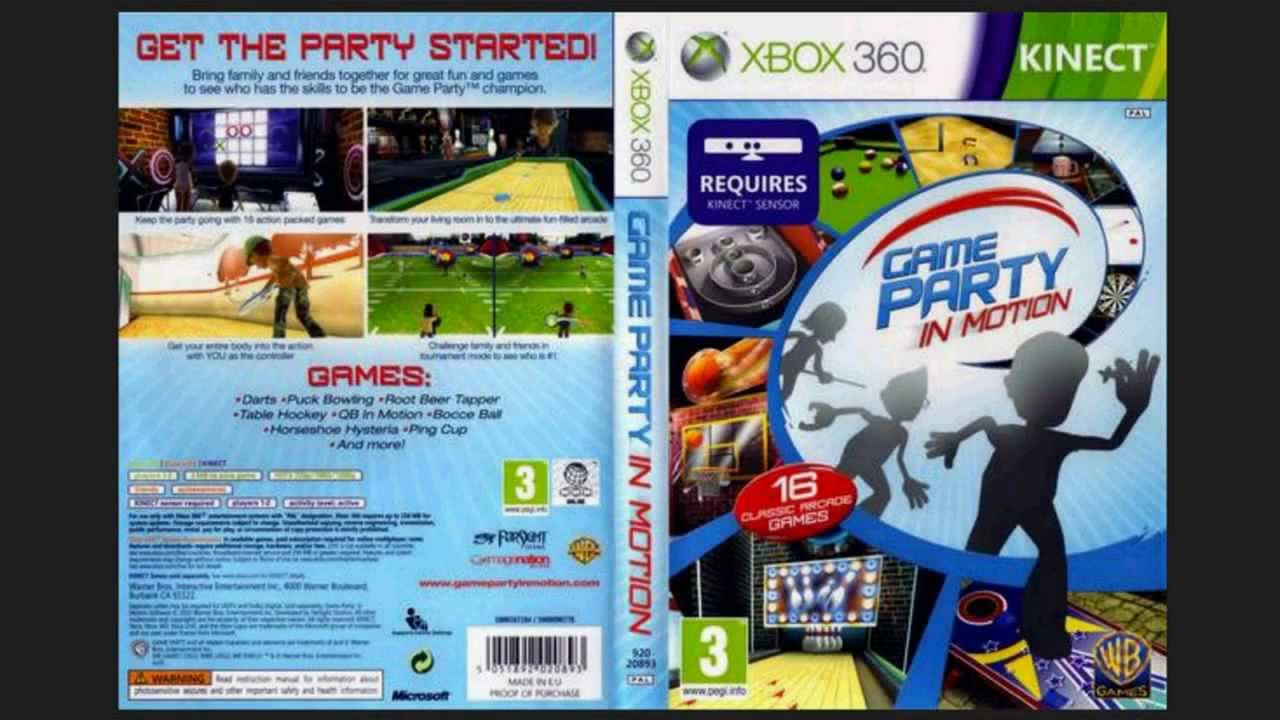 Kinect Spiele