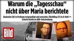 Julian Reichert vs. Tagesschauchef Kai Gniffke: Das Streitgespräch zum Mordfall Maria