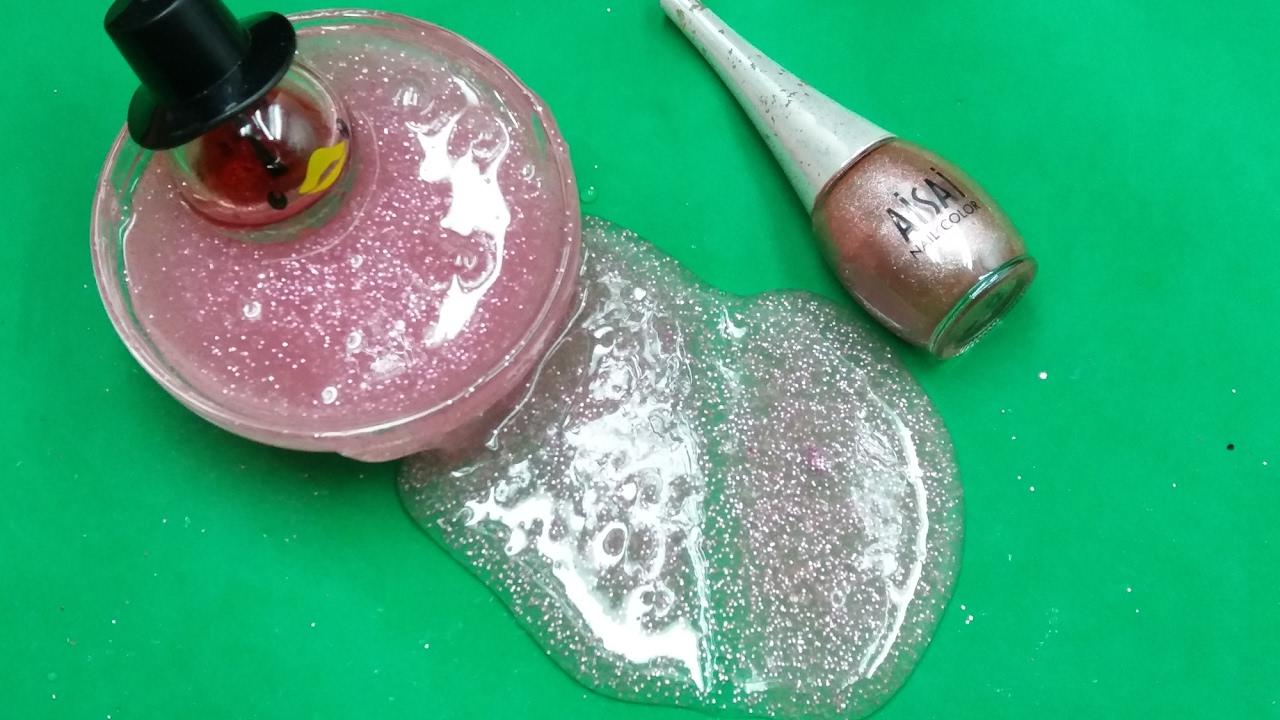 diy nail polish slime