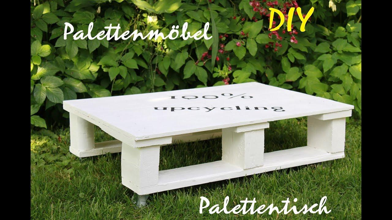 m bel aus paletten palettentisch selber machen pallet furniture youtube. Black Bedroom Furniture Sets. Home Design Ideas